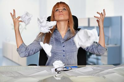 Business Process Outsourcing - buried in paperwork
